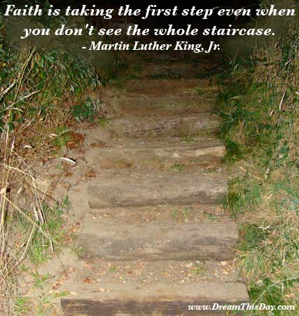 Comforting Quotes and Sayings - Comforting Words. Faith is taking the first