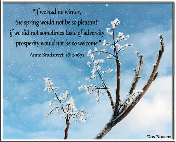 ... Quotes about Winter from my large collection of inspirational quotes